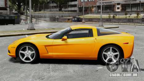 Chevrolet Corvette Z51 para GTA 4 esquerda vista
