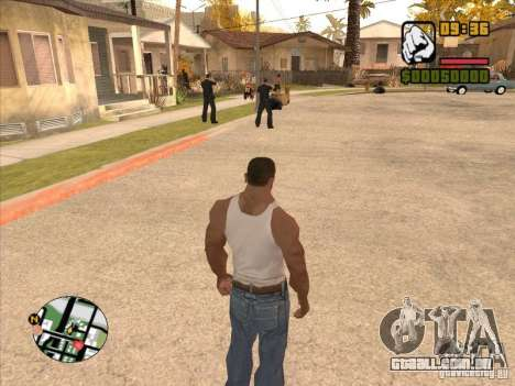 Call the Police para GTA San Andreas quinto tela