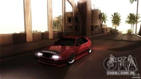 Volkswagen Corrado VAG para GTA San Andreas vista direita