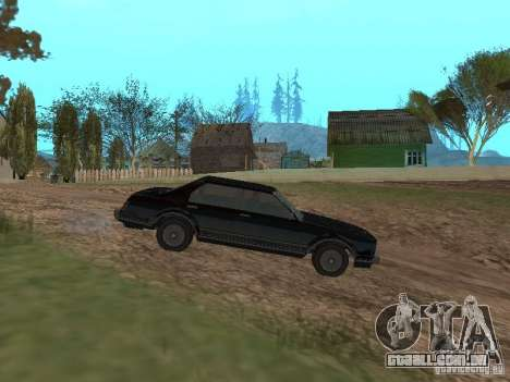 Romano é taxi do GTA 4 para GTA San Andreas esquerda vista