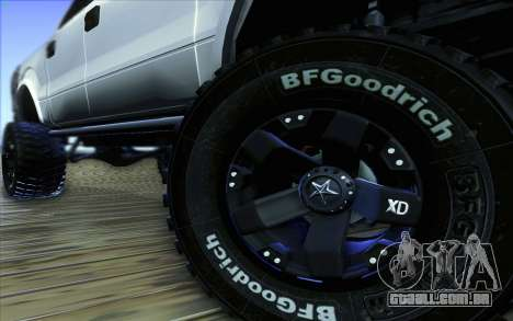 Ford F-150 Carryer Metal Mulisha para GTA San Andreas vista superior