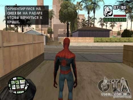 Homem-Aranha 2099 para GTA San Andreas terceira tela