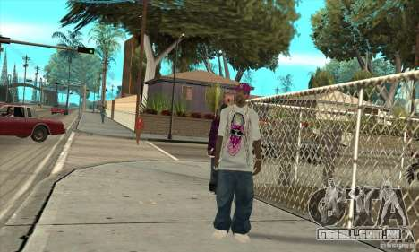Substituir todos os skins Ballas East Side para GTA San Andreas terceira tela
