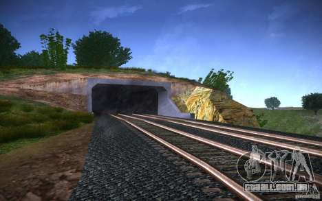 Trilhos de HD v 2.0 Final para GTA San Andreas quinto tela