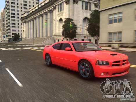 Dodge Charger SRT8 2006 para GTA 4 vista direita