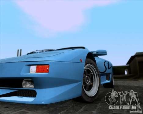 Lamborghini Diablo SV V1.0 para GTA San Andreas vista inferior