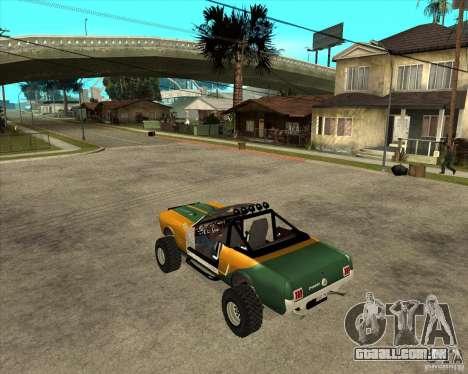 Ford Mustang Sandroadster para GTA San Andreas esquerda vista