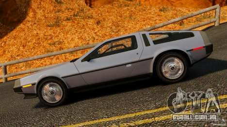 DeLorean DMC-12 1982 para GTA 4 esquerda vista