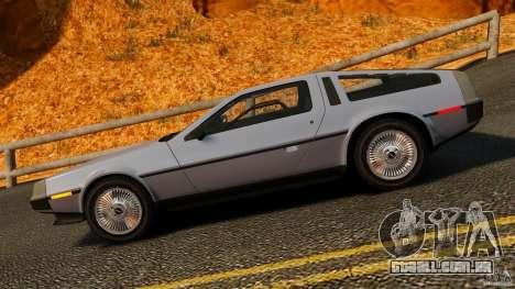 DeLorean DMC-12 1982 para GTA 4 esquerda vista