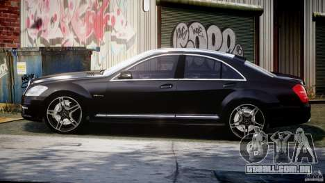 Mercedes-Benz S63 AMG [Final] para GTA 4 esquerda vista