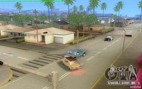 Estradas concretas de Los Santos Beta para GTA San Andreas décimo tela