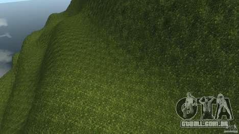 Crash Test Mountain para GTA 4 por diante tela