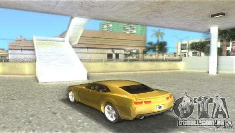 Chevrolet Camaro para GTA Vice City deixou vista
