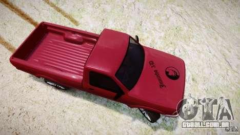 Ford Ranger para GTA 4 vista lateral