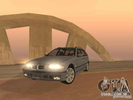 BMW 318 Touring para GTA San Andreas esquerda vista
