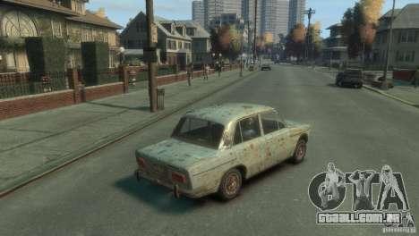 VAZ 2103-Rusty v 1.0 para GTA 4 traseira esquerda vista