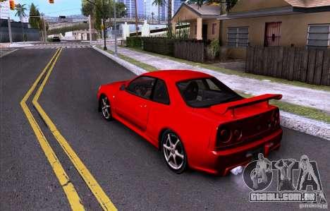 ENBSeries by HunterBoobs v3.0 para GTA San Andreas por diante tela