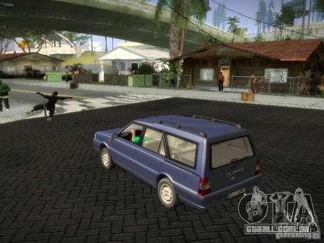 Daewoo FSO Polonez Kombi 1.6 2000 para GTA San Andreas esquerda vista