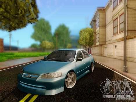 Honda Accord 2001 para GTA San Andreas