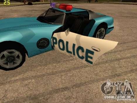 Banshee Police San Andreas para GTA San Andreas vista direita