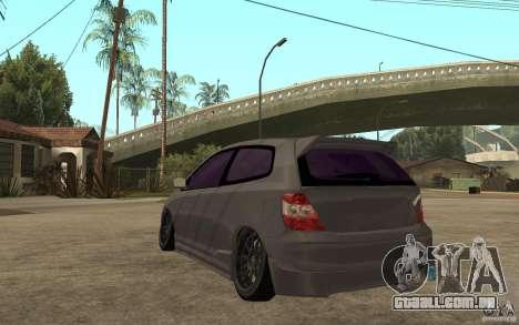 Honda Civic Type-R para GTA San Andreas