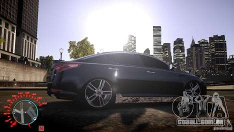 Kia Optima Dub para GTA 4 vista direita