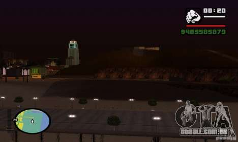 ENBSeries 0,075 (só água) para GTA San Andreas quinto tela