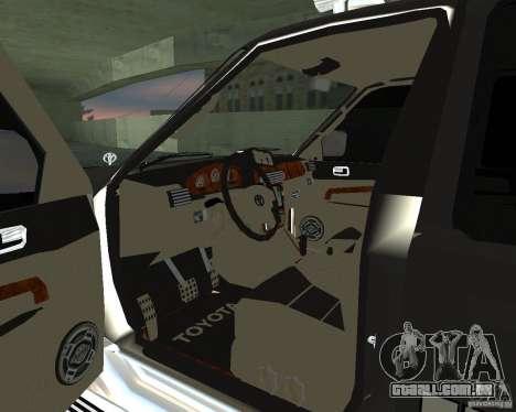 Toyota Surf v2.1 para GTA San Andreas vista direita