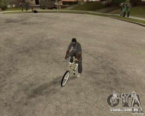 Bicicleta nova para GTA San Andreas vista direita