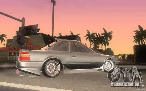 Toyota Soarer GZ20 para GTA San Andreas esquerda vista