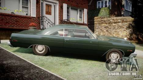 Dodge Dart 1975 [Final] para GTA 4 esquerda vista