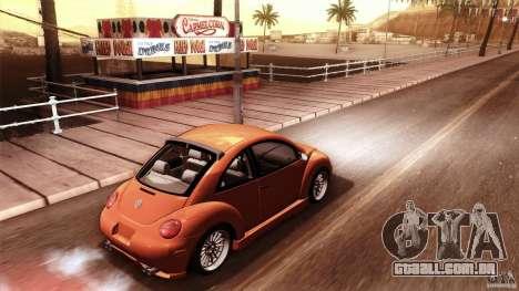 Volkswagen Beetle RSi Tuned para GTA San Andreas interior