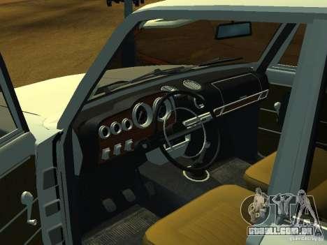 VAZ 2106 Touring para GTA San Andreas vista traseira