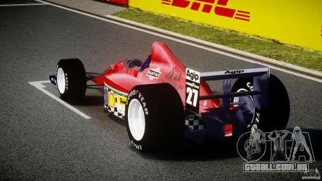 Ferrari Formula 1 para GTA 4 traseira esquerda vista