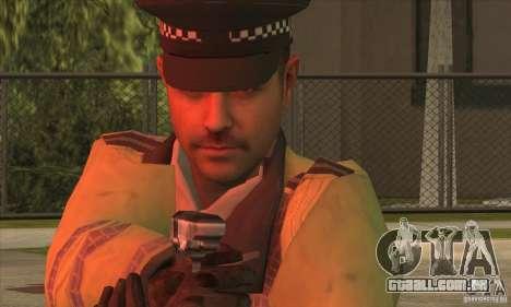 Uma nova polícia para GTA San Andreas segunda tela