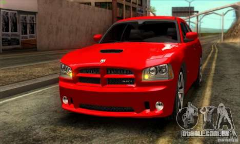 Dodge Charger SRT8 para GTA San Andreas esquerda vista