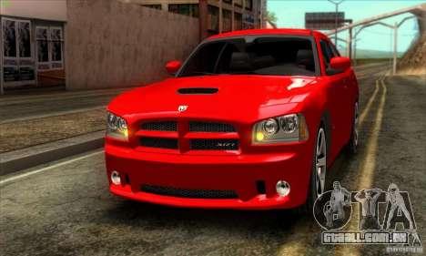 Dodge Charger SRT8 para GTA San Andreas esquerda vista