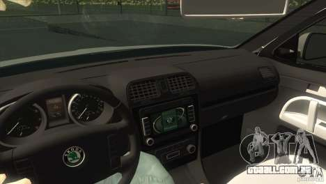 Skoda Octavia Scout para GTA San Andreas vista interior