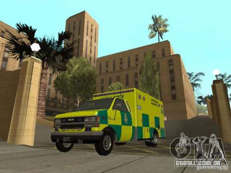 London Ambulance para GTA San Andreas