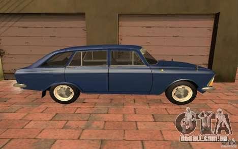 IZH 2125 Kombi para GTA San Andreas traseira esquerda vista