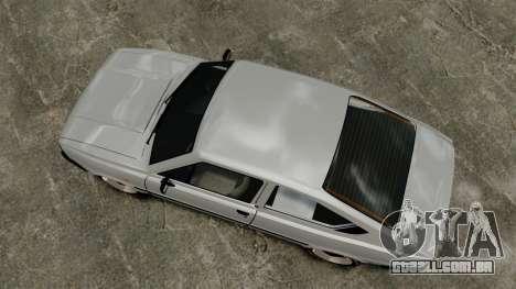 Skoda 120 Rapid v0.7 para GTA 4 vista direita