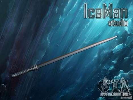 A espada de lâmina para GTA San Andreas