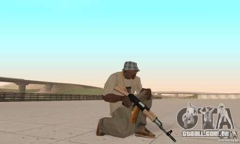 AK 47 para GTA San Andreas segunda tela