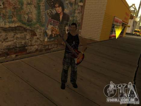 Músicas do filme na guitarra para GTA San Andreas