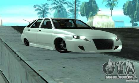 VAZ-2112 carro Tuning para GTA San Andreas vista inferior