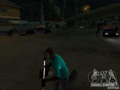Máscara de Guy Fawkes para GTA San Andreas segunda tela