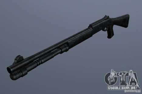 XM1014 para GTA San Andreas segunda tela