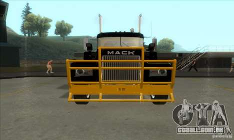 Mack R600 para GTA San Andreas esquerda vista