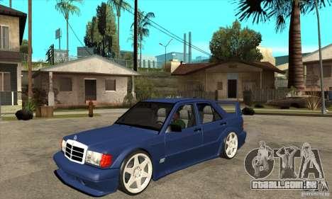 Mercedes-Benz w201 190 2.5-16 Evolution II para GTA San Andreas