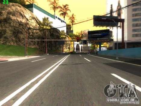 Roads Moscow para GTA San Andreas segunda tela